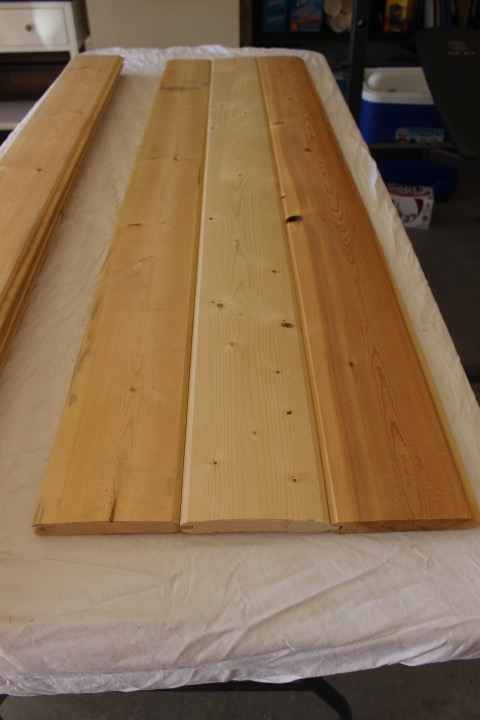 cut tongue and groove boards